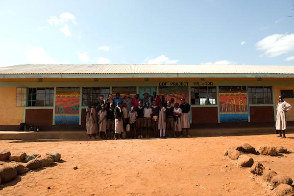 Maasai Mural