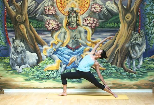 Goda Yoga Mural Pose