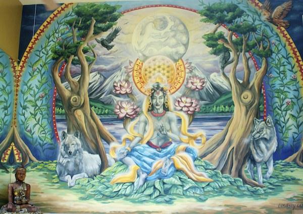 Goda Yoga Mural