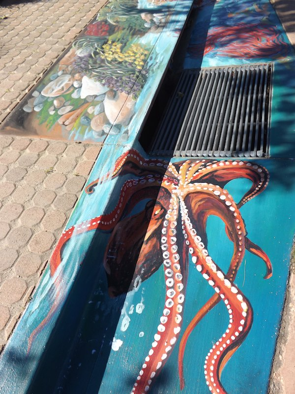 Malibu Coral Reef Mural