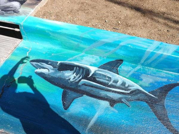 Malibu Great White Mural