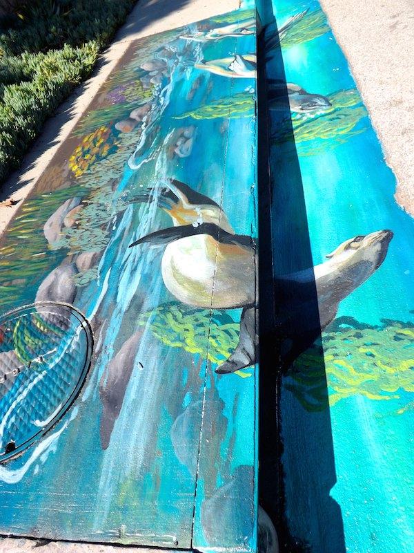 Malibu Seals Mural