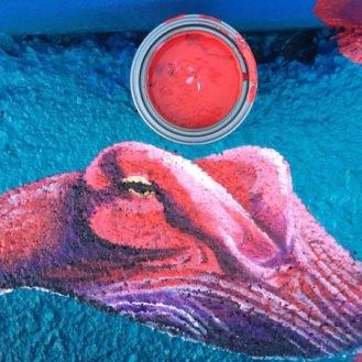Octopus Paint