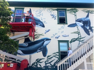 The Whale MuseumMural