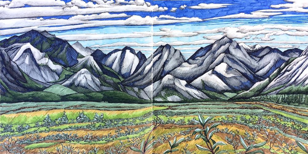 valley-sketch