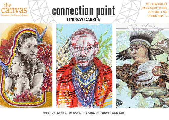 Connection Point – Solo Exhibition Juneau, Alaska